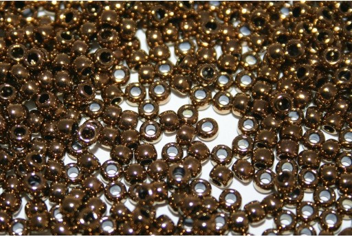 Perline Toho Rocailles Antique Bronze 8/0 - 10gr