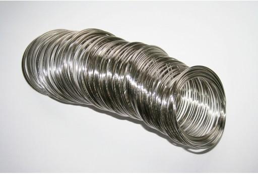 Steel Memory Wire 5cm - 10 loops