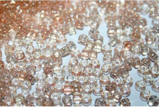 Perline Toho Rocailles Trans-Rainbow Peach 8/0 - 10gr