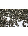 Miniduo Beads Metallic Suede Gold 4x2,5mm - 10gr