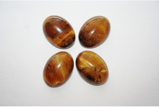 Cabochon Tiger's Eye Oval 13x18mm - 1pz