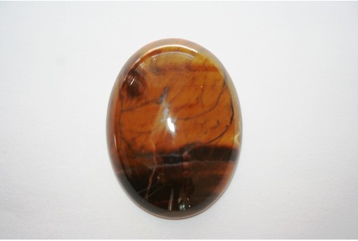 Cabochon Tiger's Eye Oval 30x40mm - 1pz
