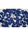 Glass Cabochon Crystal Round Blue 12mm - 4pz