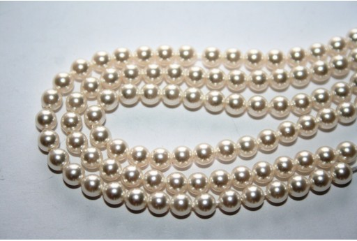 Perle Swarovski White 5810 3mm - 20pz