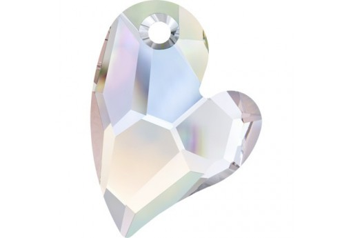 Devoted 2 U Swarovski Crystal AB 17mm - 1pc