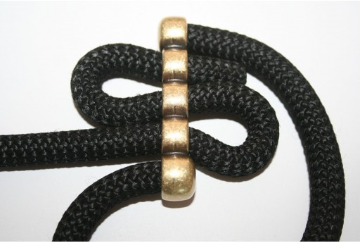 Climbing 5-Strand Bronze Spacer Connector 15x64mm - 1pc