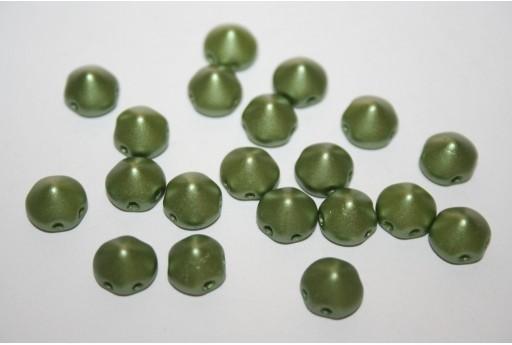 Perline Tipp Beads Pastel Olivine 8mm - 20pz
