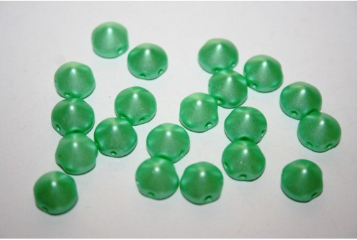Perline Tipp Beads Pastel Light Green 8mm - 20pz