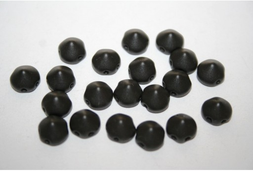 Perline Tipp Beads Metallic Black 8mm - 20pz