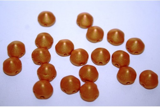 Perline Tipp Beads Metallic Gold 8mm - 20pz