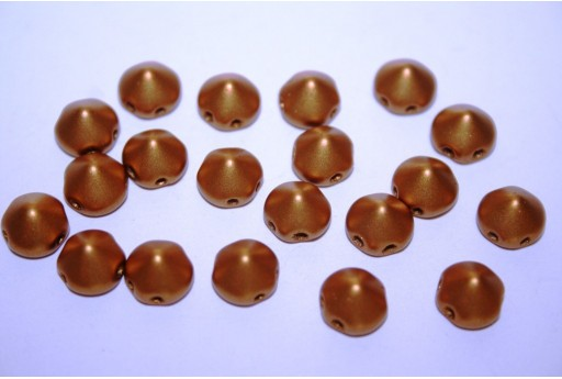 Perline Tipp Beads Metallic Brass 8mm - 20pz