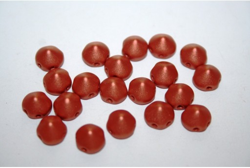 Tipp Beads Metallic Bronze 8mm - 20pz