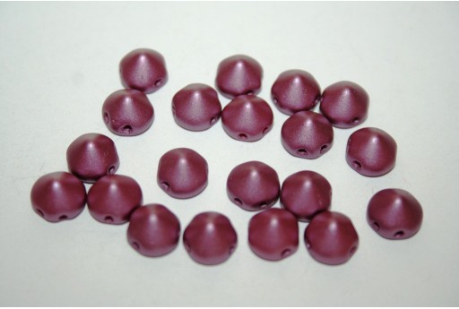 Perline Tipp Beads Pastel Burgundy 8mm - 20pz