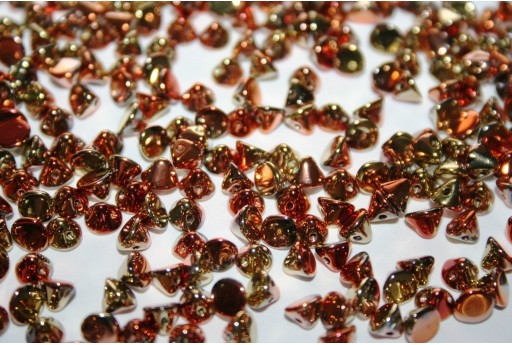 Button Beads California Gold Rush 8mm - 20pz