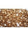 Perline Czech Flower Cup Aztec Gold 7x5mm - 50pz