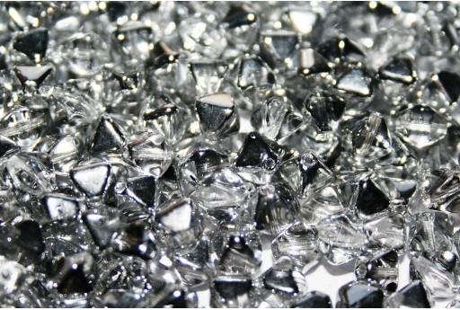 Perline Biconi di Boemia Crystal Labrador 6mm - 75pz