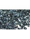 Perline Biconi di Boemia Jet Picasso 6mm - 75pz