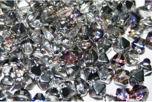 Czech Pressed Bicones Crystal Volcano 6mm - 75pz