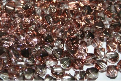 Perline Biconi di Boemia Crystal Capri Gold 6mm - 75pz
