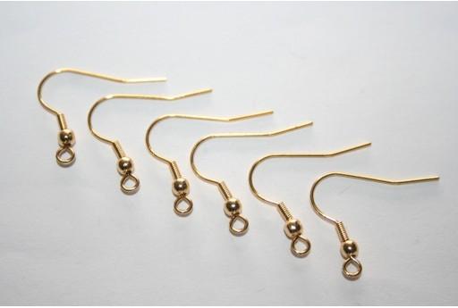 Monachelle Acciaio Colore Oro 19,5x20mm - 2pz