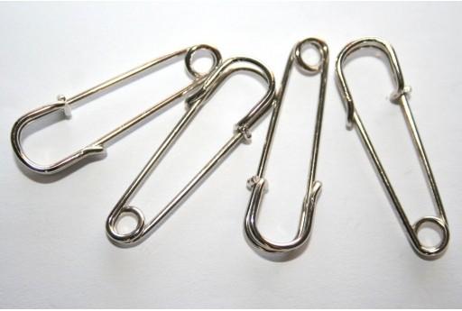 Safety Pins 40x13mm - 6pcs