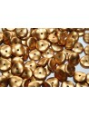 Perline Wavelet Metallic Brass 10mm - 15pz