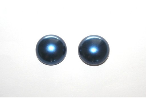 Cabochon Imitation Pearl Blue 14mm - 5pz