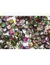 Crisscross Cubes Magic Orchid 4mm 50pcs