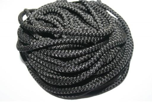 Climbing Cord Nero 5mm - 1mt