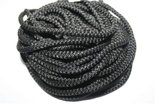 Climbing Cord Nero 5mm - 1mt