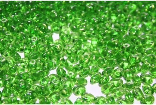 Miniduo Beads Chrysolite 4x2,5mm - 10gr