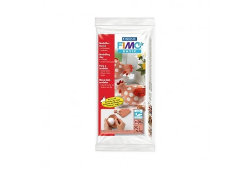 Pasta Fimo Air Basic Terracotta 500gr