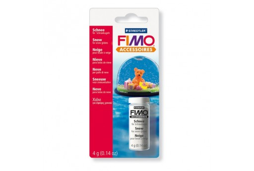 Fimo Snow for Snow Globes