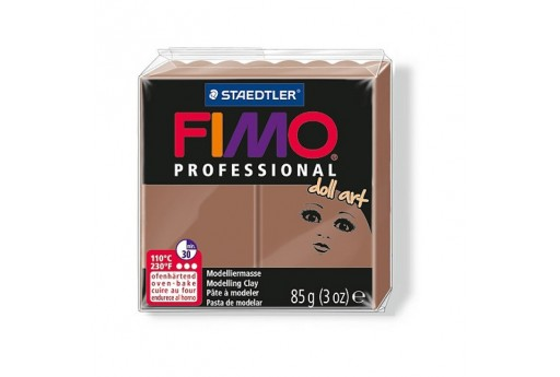 Fimo Professional Doll Art Polymer Clay 85g Chocolate Col.77
