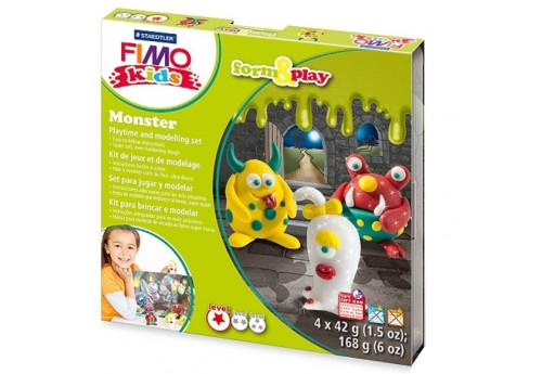 Fimo Kids Form and Play - Monsters
