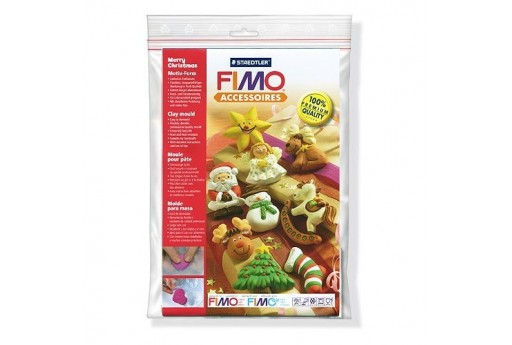 Fimo Moulds - Merry Christmas
