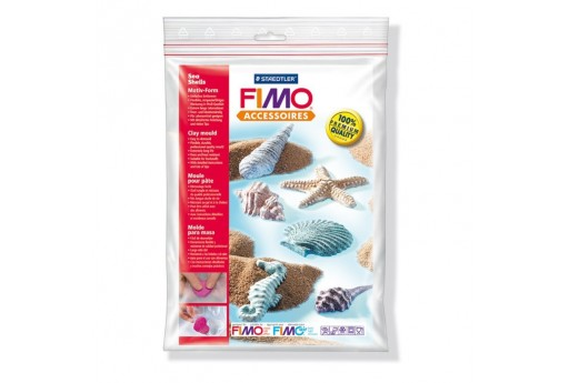 Fimo Moulds - Sea Shells