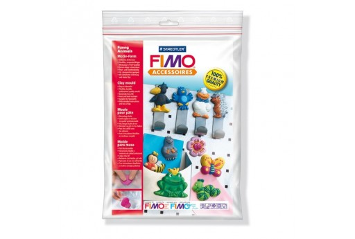 Fimo Moulds - Funny Animals