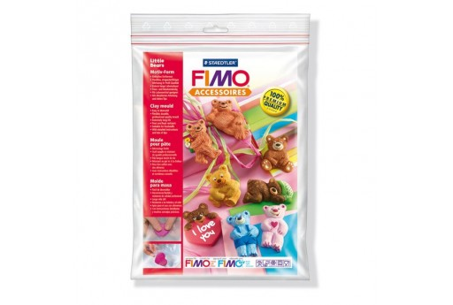 Fimo Moulds - Little Bears