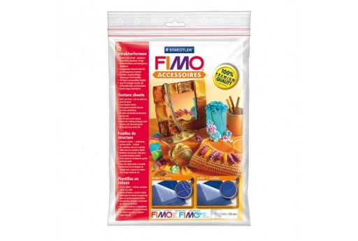 Fimo Texture Sheets - Croco/Leather Motifs