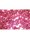 Perline Mezzi Cristalli Halo-Madder Rose 3mm - 60pz