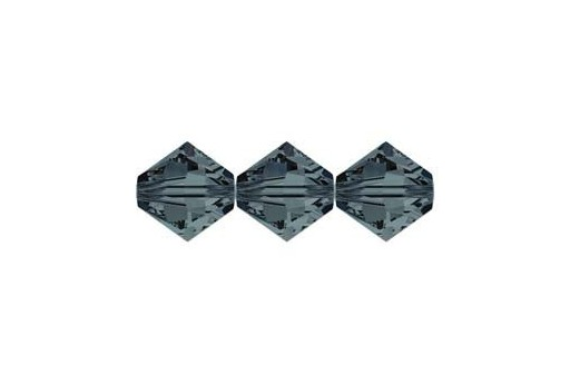 Swarovski Bicones Graphite 3mm - 20pcs 5328