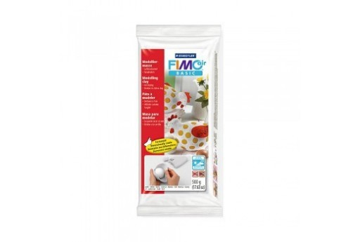 Pasta Fimo Air Basic Bianco 500gr