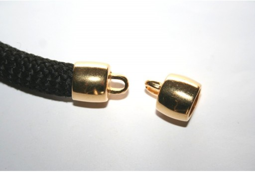 Climbing Gold Cord End Cap 16,9x13,8mm - 1pc