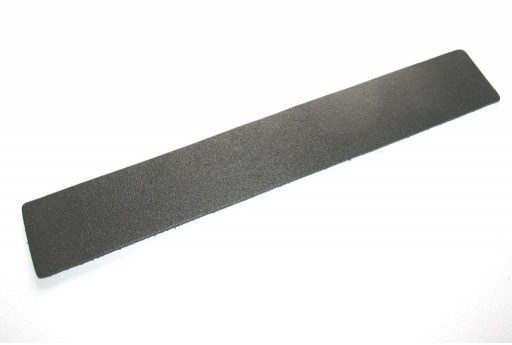 Bracciale Leather Nero 30x200x2mm - 1pz