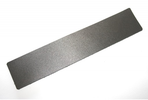 Bracciale Leather Nero 40x200x2mm - 1pz