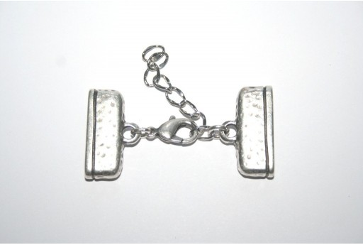 Flat Ends with Lobster Clasp 25X11mm - 1pc