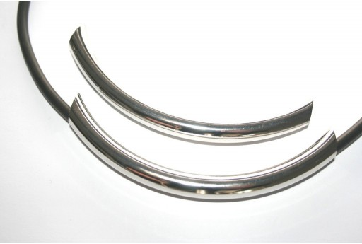 Curved Tube Metal Component 10X110mm - 1pc