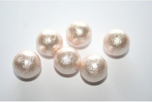 Cotton Pearls Miyuki Pink 12mm - 5pz