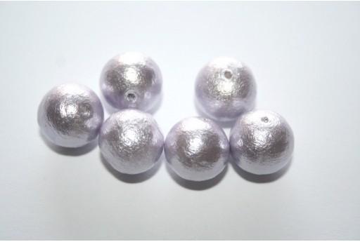 Cotton Pearls Miyuki Lavender 12mm - 5pz